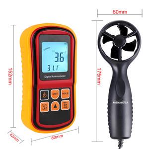 을 Freeshipping Gm8901 풍속계 바람 속도 Gaugetemperature 디지털 45 M / S 온도계 휴대용 도구를 측정 측정