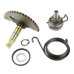 Aluminio Kick Start Eje de engranaje kit de reconstrucción Idel Gear Set para GY6 50cc 60cc 80cc 139QMB Vespa