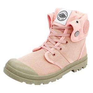 2019 Yeni Tuval Ayakkabı Kadınlar Boots Palladium Stil Moda Yüksek üst Askeri Bilek Günlük Ayakkabılar Kadın Kaliteli Boots