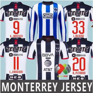 2019 2020 Monterrey calcio maglia camicia Terzo casa lontano 19 20 Special Edition Rayados Monterrey 5 Stelle D.PABON R.FUNES MORI football