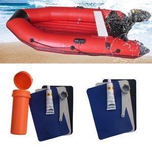 Boot-Reparatur-Werkzeug für aufblasbare Kugel Patch-Kleber Kit Adhesive Raft Driften Kanu Sofa Pool schwimmen Ring Puncture Zubehör