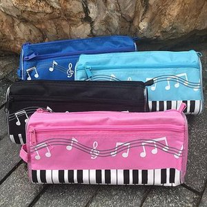 Piyano kalem kutusu Klavye pencilcase çocuklar Kırtasiye Ofis Okul Müzik Kalem çanta Kutusu Depolama Bag Malzemeleri