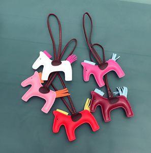 2019 Брелок Cute Pony кожи кисточка сумка украшение кулон Творческих моды подарки брелоки Подвеска Модных аксессуары