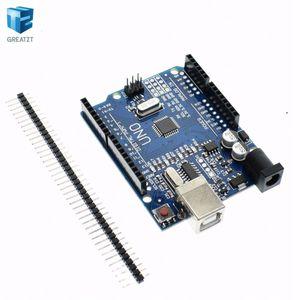 Freeshipping 10 stücke Intelligente Elektronikqualität UNO R3 MEGA328P CH340G Kompatibel KEIN USB-KABEL für