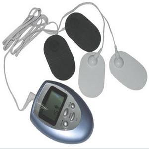 Ganzkörper-Schocktherapie Gesicht Körper Massager Stimulation Muskel Electro Massage Kit Portable dünne Ausrüstung Y-1018 DHL-freies Verschiffen