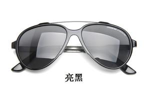 Klasik güneş gözlüğü kare lider güneş gözlüğü Sonnenbrille erkek lüks çerçeveleri ile tasarlanmış tonları