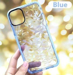 Nouveau luxe de Diamond TPU Téléphone cas pour l'iPhone 11 Pro Max XS X 8 7 6 Plus Two Tone coloré antichocs Couverture arrière