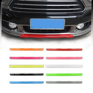 ABS Car Front Lower Bumper Lip Cover Diffuser Spoiler Body Kit Moulding Trim For Mini Cooper Countryman F60 Exterior Styling