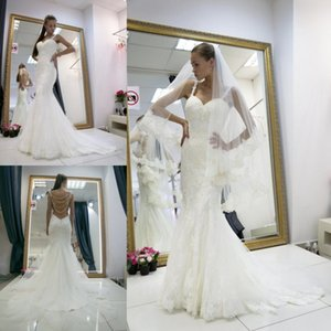 Spaghetti Straps Wedding Dresses Sweetheart Strapless handmade Flowers A Line Bridal Gowns Plus Size 4 6 8 10 12 14 16 18 20