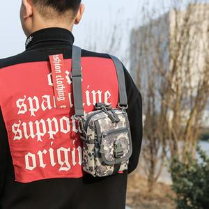 Factory Direct Tactical Tarnung Tasche Multi-Funktions-Männer Schultertasche Benutzerdefinierte Sport im Freien Kleinen Satchel Großhandel