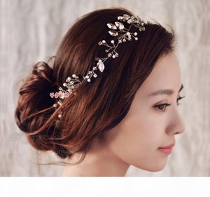 New Women headband handmade hair ornaments pearl jewelry marriage crystal decoration Festival Gifts wedding party accessories