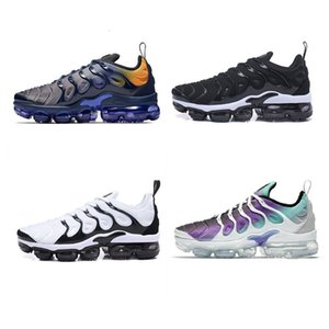 2020 Original New Arrival Color 19 Mens Sneakers TN Plus Breathable Aircraft Designer Casual max Running Shoes US5. 5-11