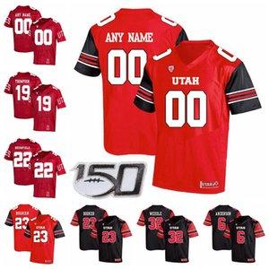 유타 utes 유니폼 폴 Kruger Jersey Kylie Fitt Alex Smith Steve Smith SR 에릭 웨일즈 2020 Mens College Football Jerseys Custom Statched