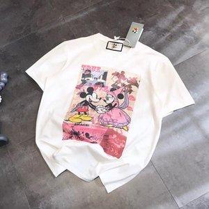 Cartoon Designer T Shirts For Men Women Brand Tshirt Short Sleeves Shirts Summer Designer Tees Free Shipping Shirts High Quality 20031804L
