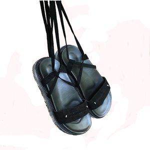 Hot Sale-Croix à égalité femmes chaussures suded été spartiates Calceus conception assez simple dames tatbeb sandales en daim 284