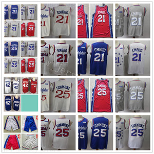 Cheap Wholesale Stitched Jersey Top Quality New Mens Red Blue White Gray Grey Beige Jerseys Size S-XXL