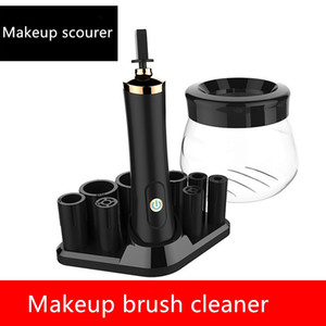 Yeni Elektrikli Makyaj fırça temizleyici ve dayer kolayca ikinci daki makyaj fırçasını temizlemek