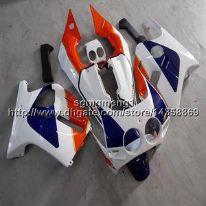 23 cores + Botls molde De Injeção laranja azul branco Body Kit motocicleta para HONDA CBR250RR MC19 1988-1989 88 89 MC19 88-89 ABS Carroceria Kit