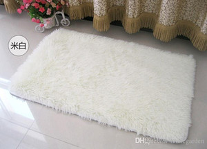 Fashion Living Dining Car Flokati Shaggy Rug Anti-skid Carpet Seatmat Brand Soft Carpet For Bedroom 50*80cm