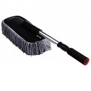 Car Wash Brosse de nettoyage Duster Wax Vadrouille en microfibre épousseter outil télescopique avec poignée longue réglable