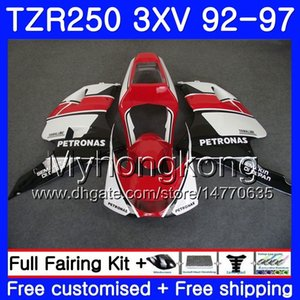 Kit nero rosso stock Per YAMAHA TZR250RR RS TZR250 92 93 94 95 96 97 245HM.29 TZR 250 3XV YPVS TZR 250 1992 1993 1994 1995 1996 1997 Carena