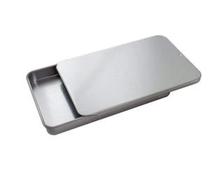 Metal Slayt Üst Teneke Kaplar Mini Fabrikası Ücretsiz DHL kargo itibaren depolama Toptan ambalaj rulo öncesi