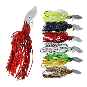 1pc 16g Spinnerbait Fishing Lure Buzzbait Wobbler Chatter Bait Fishing Equipment For Bass Pike Walleye Fishing