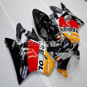 Подарки + винты repsol оранжевый красный мотоцикл артикул для HONDA 2002 2003 CBR954RR 02 03 ABS обтекатель
