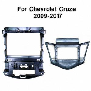 Para Cruze 2009 2010 2011 2017 Car fáscias Navigation Quadro traço Plate Frame Kit para 9DVD Jogador Pash moldura guarnição Kit decorações para Ca 8QXS #