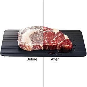 DHL gratuit Plateau pour Décongeler Aliments congelés Dégel Plaque décongeler de la viande / aliments congelés rapidement et sans autres outils