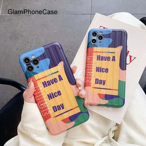 Glam Phone Case Have A Nice Day Phone Case For iPhone 11Pro Max X XS Max XR Soft Silicone Case For iPhone11 7 8Plus