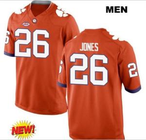 las mujeres de Hombres jóvenes Clemson Tigers Sheridan Jones # 26 del jersey del fútbol de tamaño s-5XL o costumbres, cualquier nombre o el número del jersey