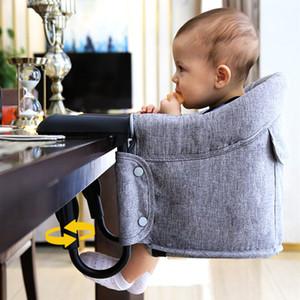 Tragbare Baby Esszimmerstuhl Kinder Reisestuhl Sitze Schnelle Haken Auf Tisch Stühle Faltbare Infant Essen Fütterung Hochstühle A-821