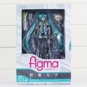 """6 """"15cm di Hatsune Miku action figure da collezione del PVC è figma 014 juguetes Brinquedos giocattolo del capretto T190925"""