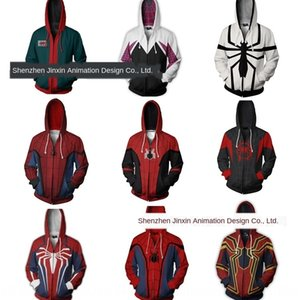 Marvel Avengers Spider-Man printing 3d cosplay Marvel Avengers Spider-Man printing sweater digital Digital 3d sweater cosplay