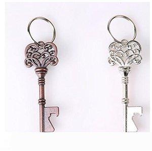 Bottle Opener Wedding Favors Keychain Key Desig Bar Beer Bottle Opener Unisex Decorative Keychain Gift Opening Tools
