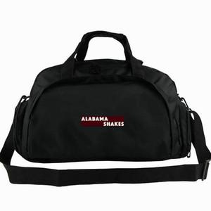 Bolsa de lona de Alabama Shakes Bolso de la gente del futuro Mochila de Brittany Howard Equipaje de la banda Ejercicio de hombro deportivo Bolsa de lona para exteriores