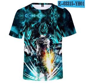 3D New Dragon Ball super Broly t-shirt garçon / GRIL Imprimer super Broly shirt manches courtes d'été childen tshirt Mode