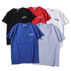 T Shirt Mens Summer Short Sleeve Hot Selling t shirt Men's and Women's Short Sleeve T-Shirt Print shirts Cotton QN835