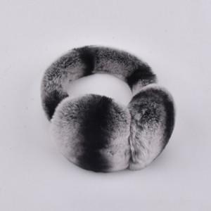 fourrure de lapin rex earmuff Hommes femmes mode chaud Russie hiver vrais enfants fourrure Earmuffs couverture de l'oreille de la fourrure earlap de fille