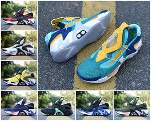 2020 ADAPT Huarache Racer para hombre del diseñador de los zapatos corrientes de aire Huarache de ultra negro blanco gris rojo Triple Aurora Verde Amarillo Jade Hyper zapatillas de deporte