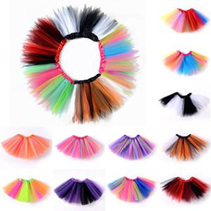 Kleinkind-Mädchen-Kind-Ballettröckchen-Rock-Tulle Tanz-Ballett-Regenbogen-Bogen-Kostüm Sommer-Prinzessin Mädchen-Kleidung