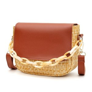 PU Leather Woman's Mini Crossbody Woven Bag Fashion Portemonnees Female Schouder Bags 2020 Voor Vrouwen Messenger Tote