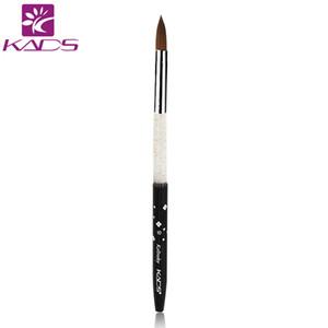 10 # Nail Art Brush Alta calidad 100% Kolinsky Sable Brush UV Gel Liner Polish herramienta de manicura profesional para Nail Art