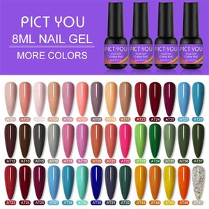 PICT YOU 8ml New Nail Art Gel Polish Soak Off Enamel Gel Polish UV Verniz long lasting Color