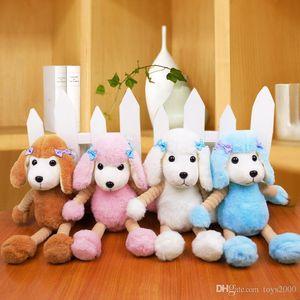 Yeni sevimli simülasyon Kaniş bebek peluş oyuncak Doldurulmuş Hayvanlar PP Peluş köpek bebek Çocuk hediye toptan
