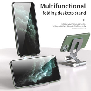 Multi-angle Adjust Portable Phone Lazy Holder Mount Universal Foldable Phone Tablet Holder For Samsung iPhone ipad HUAWEI XIAOMI LG SONY HTC