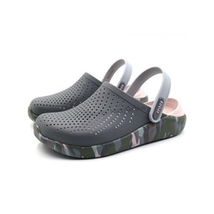 Designer Casual Hole Shoe Summer Beach Sandals Slippers Flip Flops Women Shoes Outdoor Non-Slip Sandalia Free Shipping