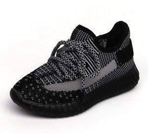 Ins Горячие Детская одежда Обувь Кроссовки малышей Kanye West Run Обувь для новорожденных младенцев детей молодежи мальчиков и девочек Chaussures Pour Enfants Кокосовые обувь
