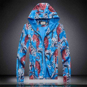 Fashion Mens Design Jackets With Pocket Decoration Hot Sale Printed Jackets Youthful Popularity Jackets For Men